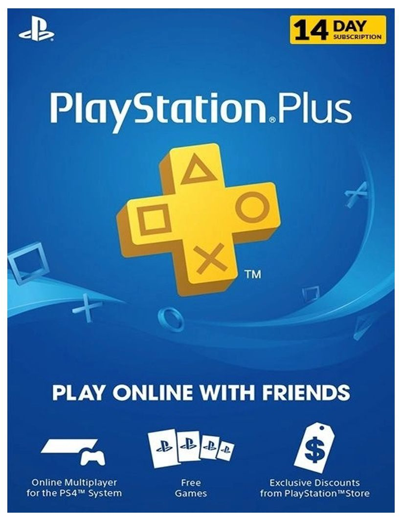 Playstation Plus 14 Day Trial